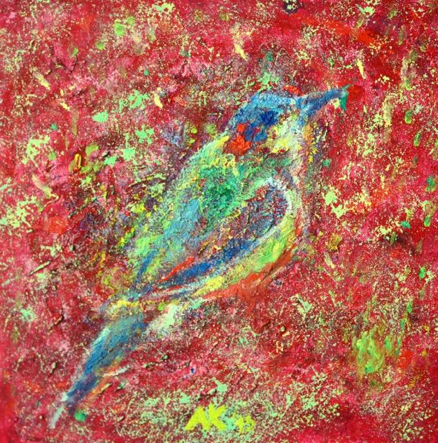 andreja kranjec psychedelic birds 8