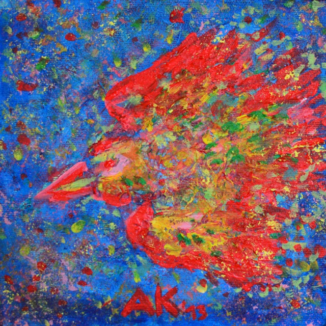 psychedelic birds 1